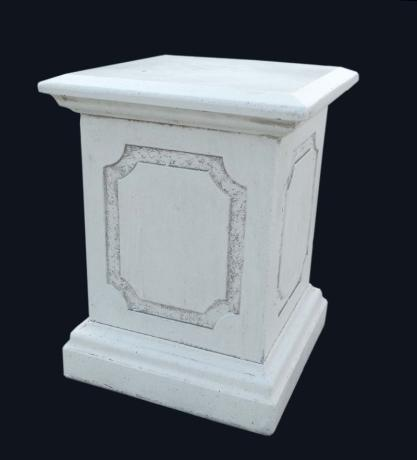 IP687 Sockel Postament Romolo Capitello Base 63cm 46x46cm 85kg